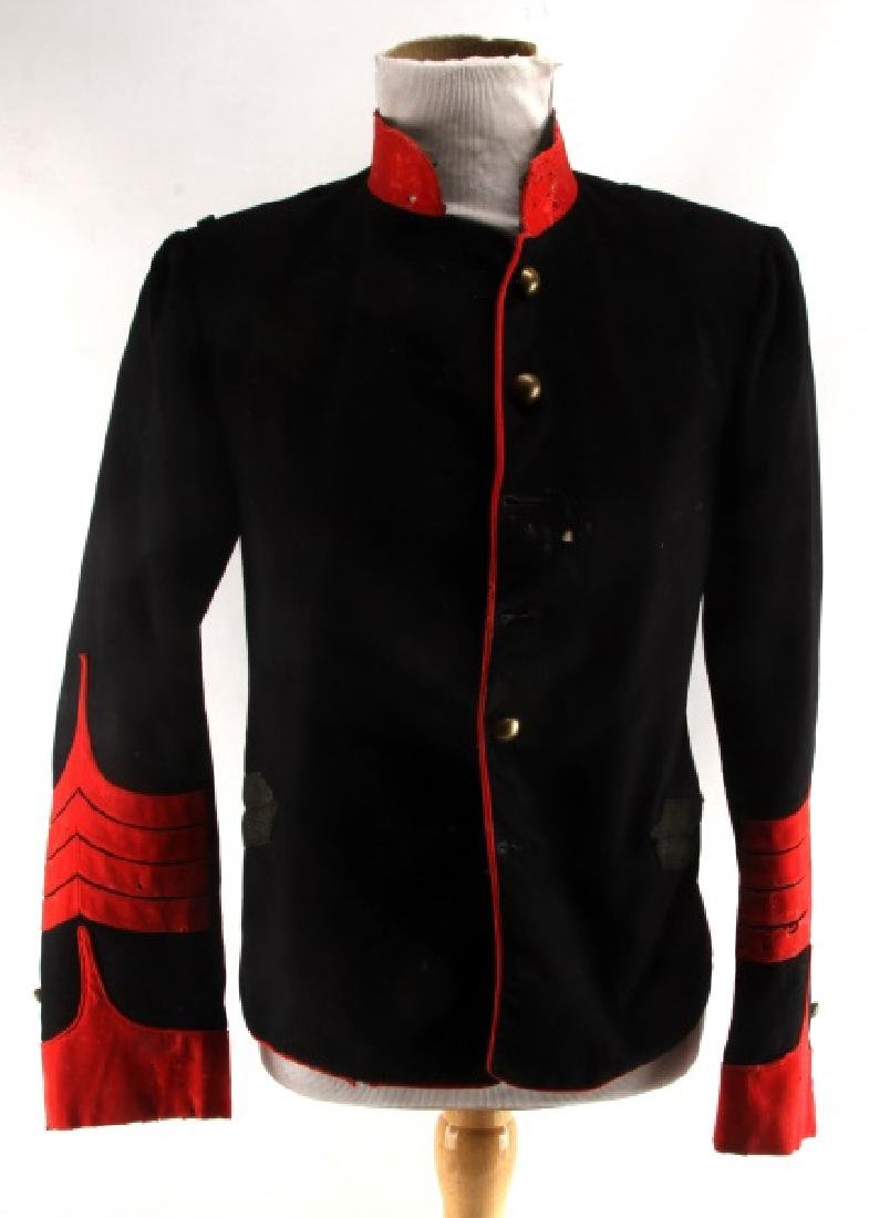 CIVIL WAR ARTILLERY OFFICER WAIST SHELL JACKET