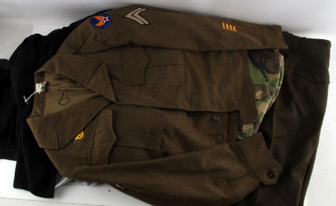 WWII TO GULF WAR MIXED MILITARY UNIFORM LOT - 2