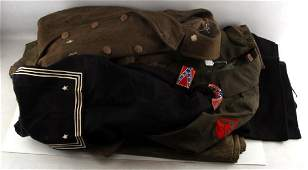 US NAVY USMC ARMY  GDR MILITARY UNIFORM LOT