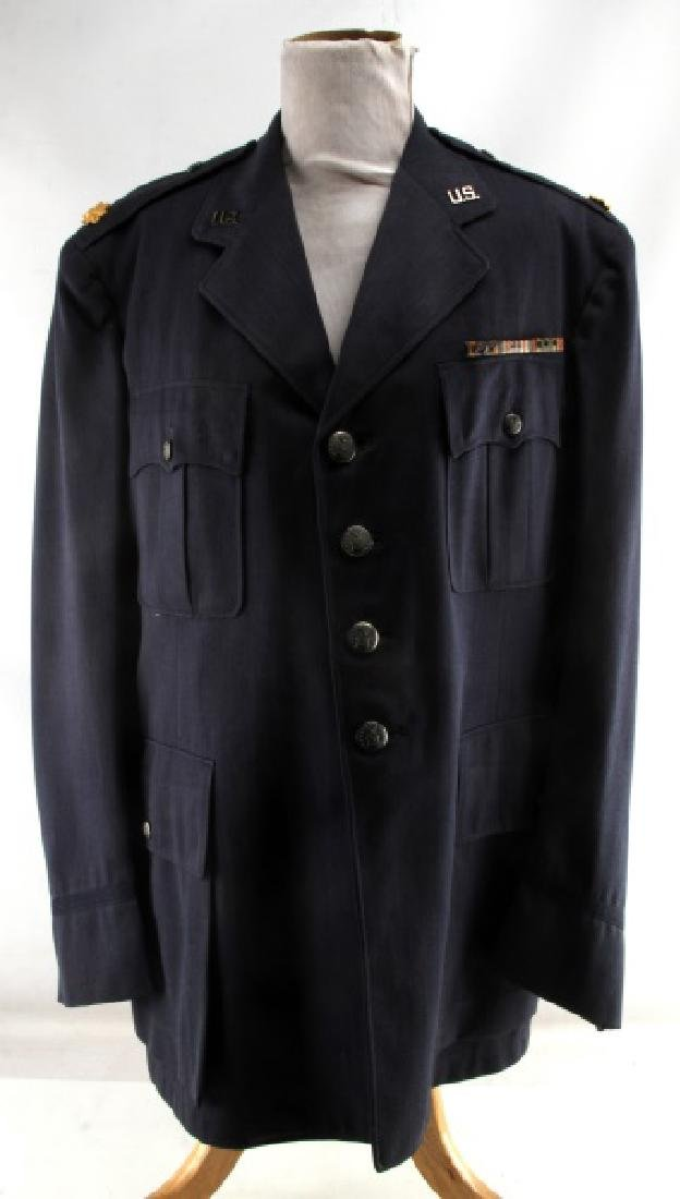 US EARLY COLD WAR AIR FORCE MAJOR UNIFORM JACKET