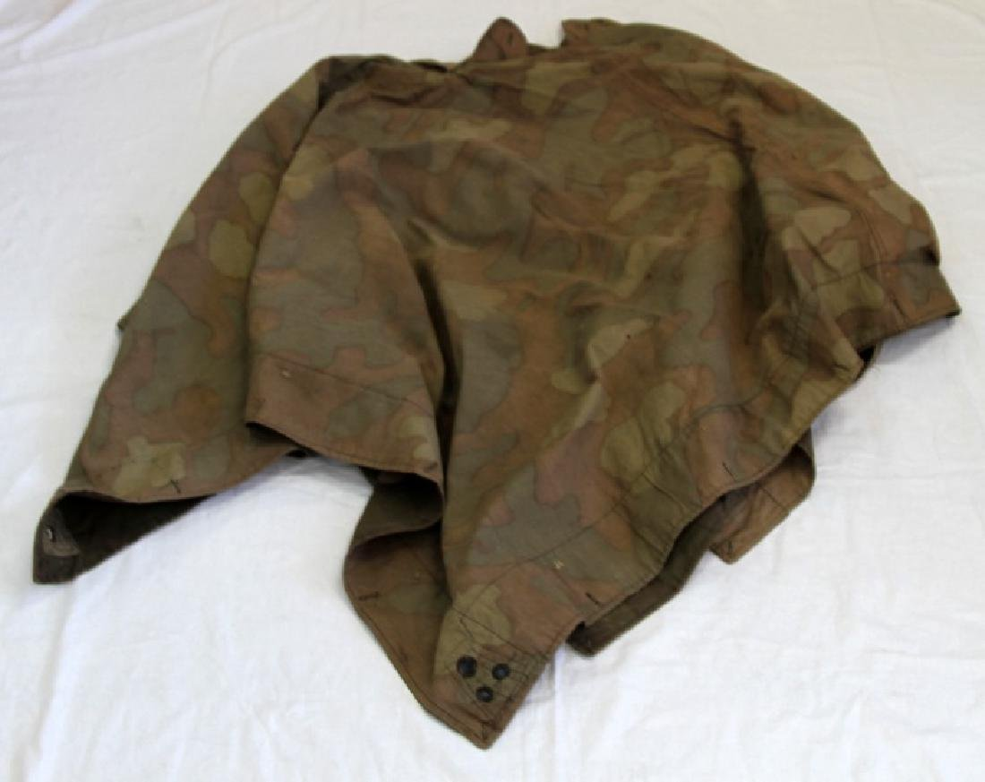 SOVIET WWII RED ARMY CANVAS PONCHO TENT COVER