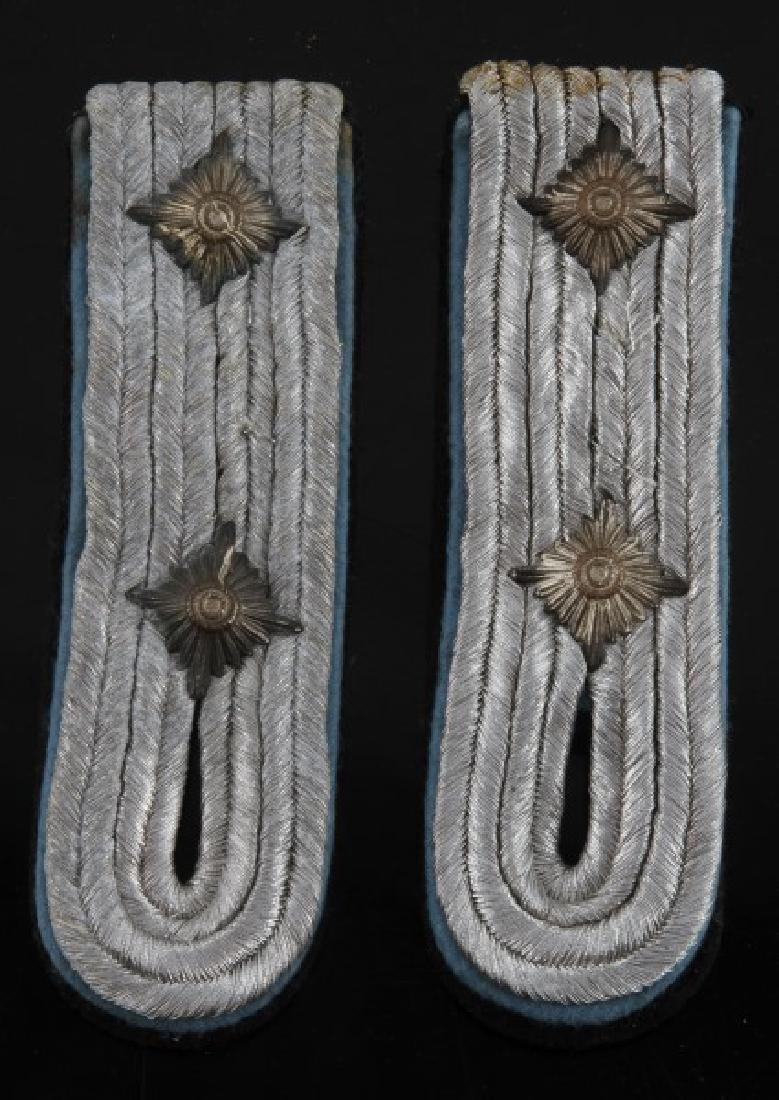 WWII GERMAN THIRD REICH WAFFEN SS SHOULDER BOARDS