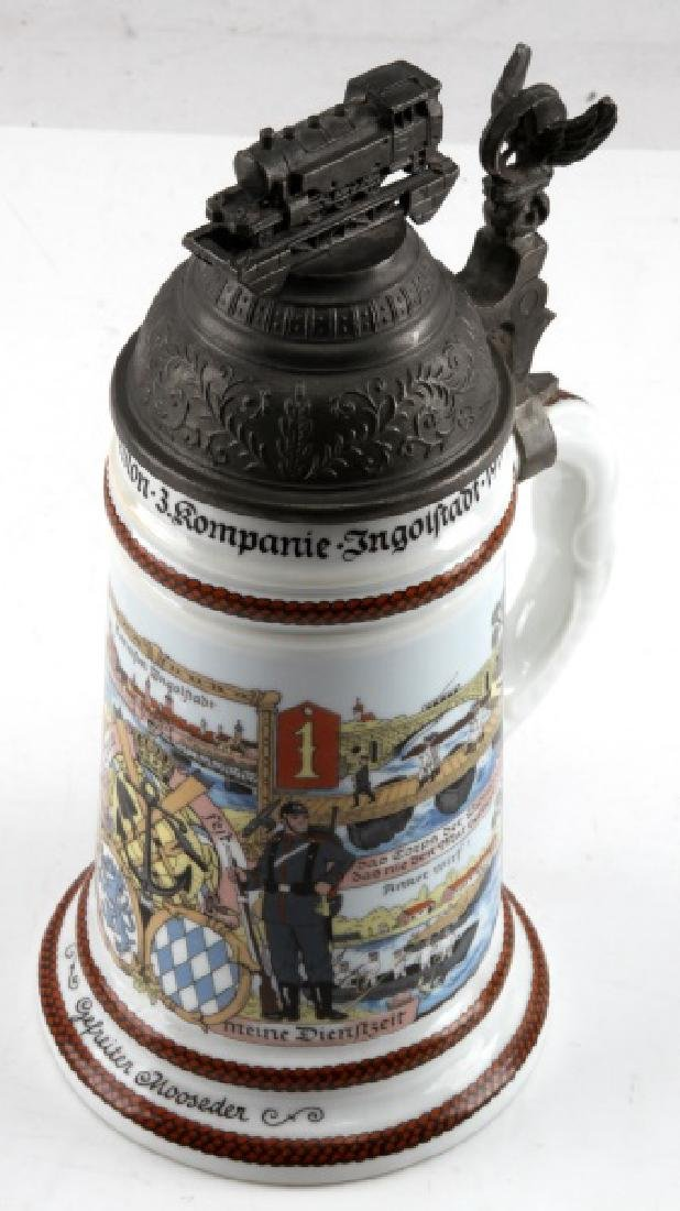 WWI GERMAN IMPERIAL REPRODUCTION REGIMENTAL STEIN