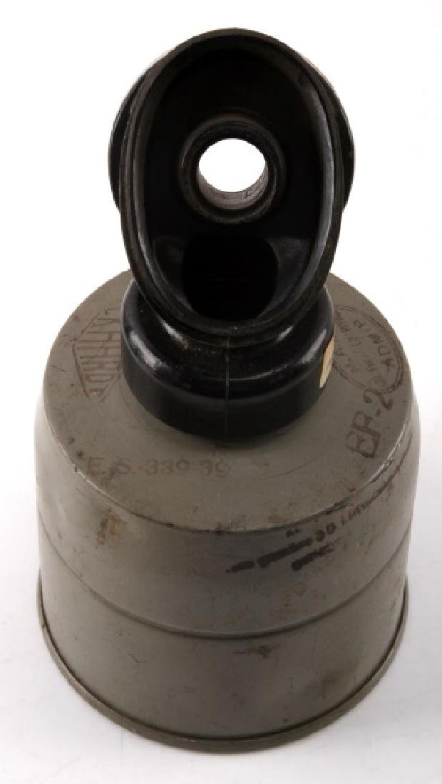 WWII GERMAN MILITARY GAS MASK FILTER
