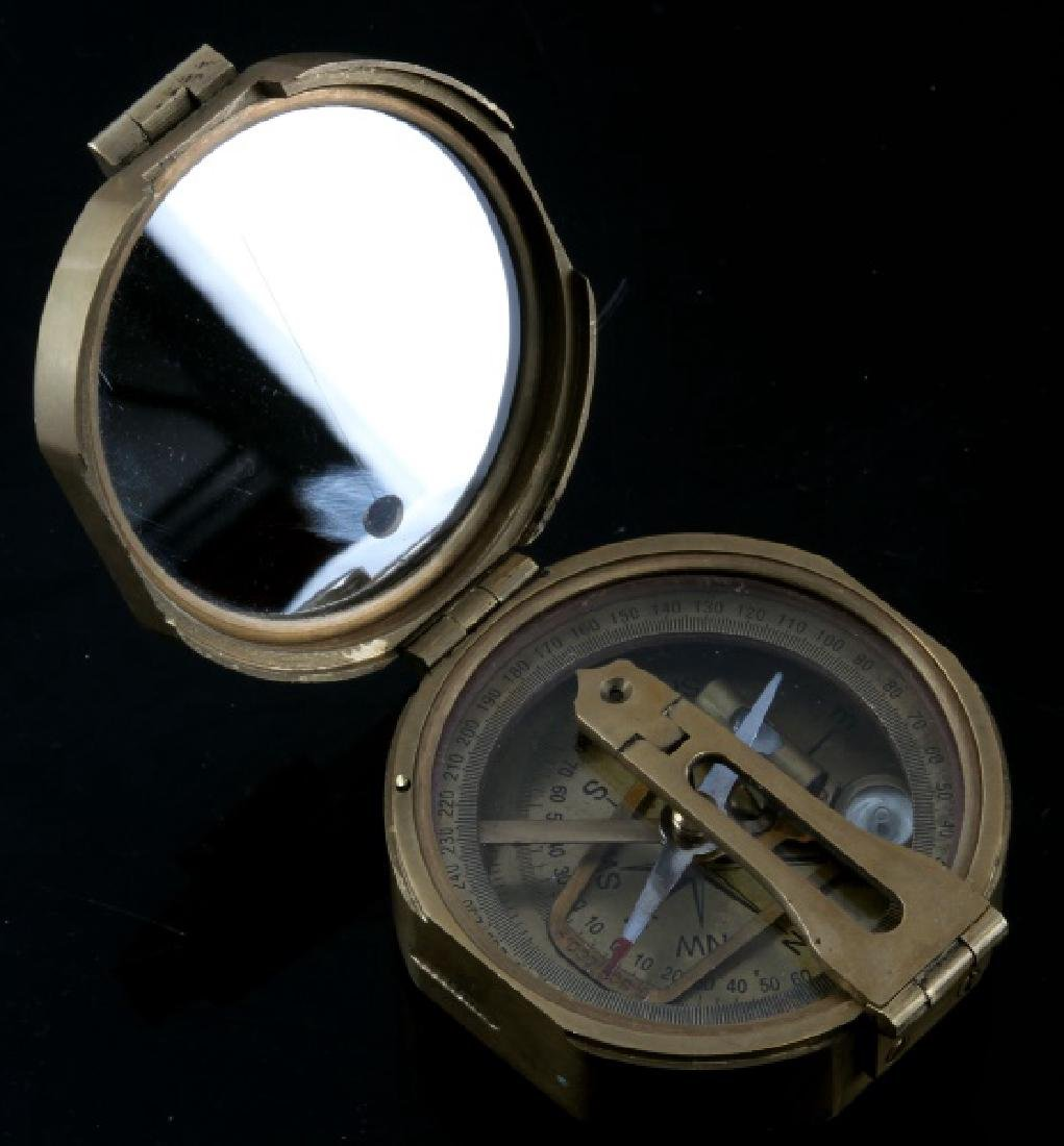 STANLEY LONDON BRASS ENGINEER COMPASS