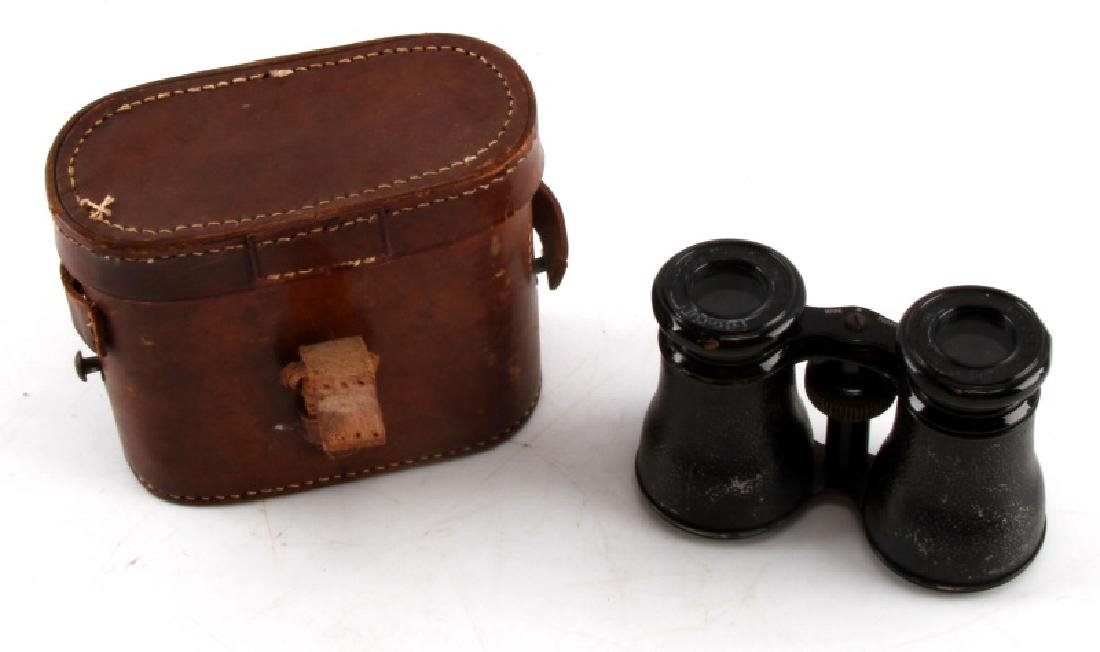 VINTAGE FRENCH GRAND LUMIERE BINOCULARS IN CASE