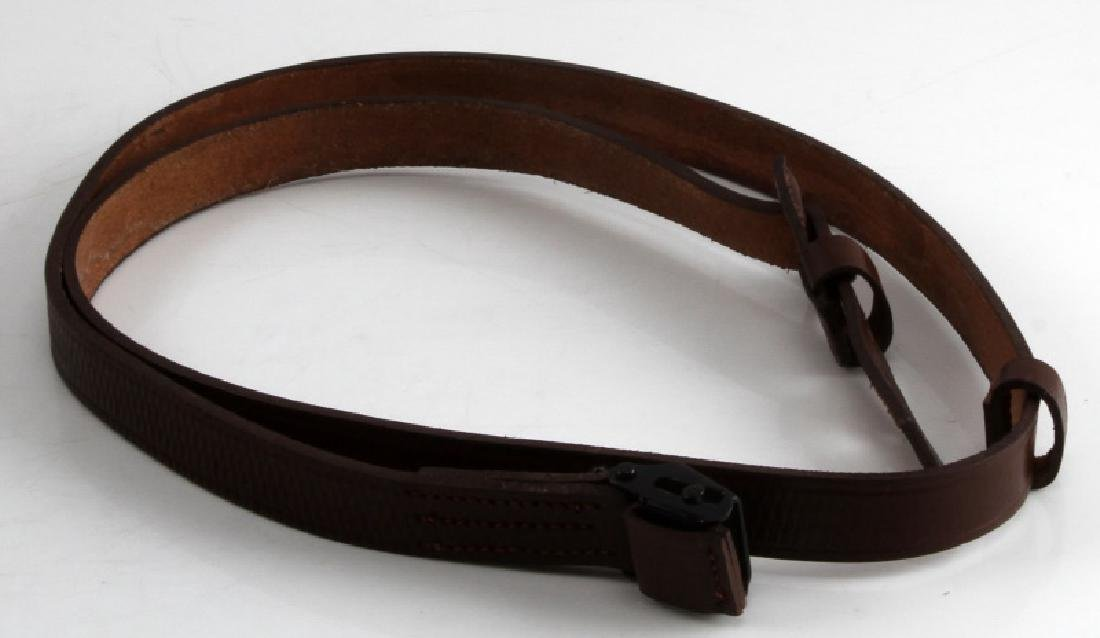 WWII GERMAN THIRD REICH LEATHER MAUSER RIFLE SLING