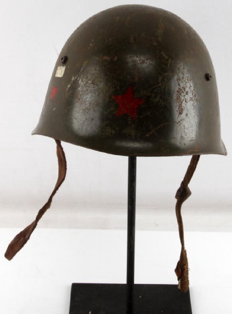 VIETNAM WAR VIET KONG MILITARY COMBAT HELMET