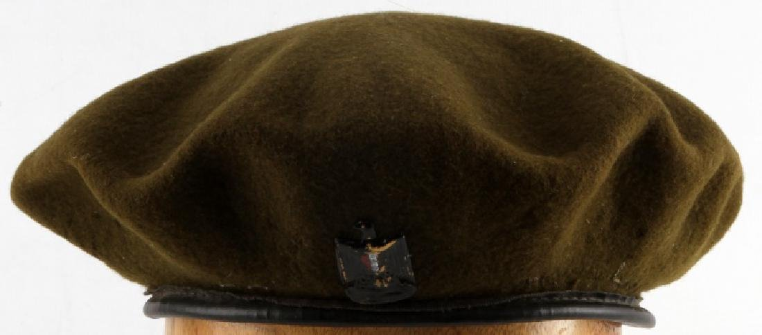 VINTAGE OFFICER GRADE IRAQI AIR FORCE BERET