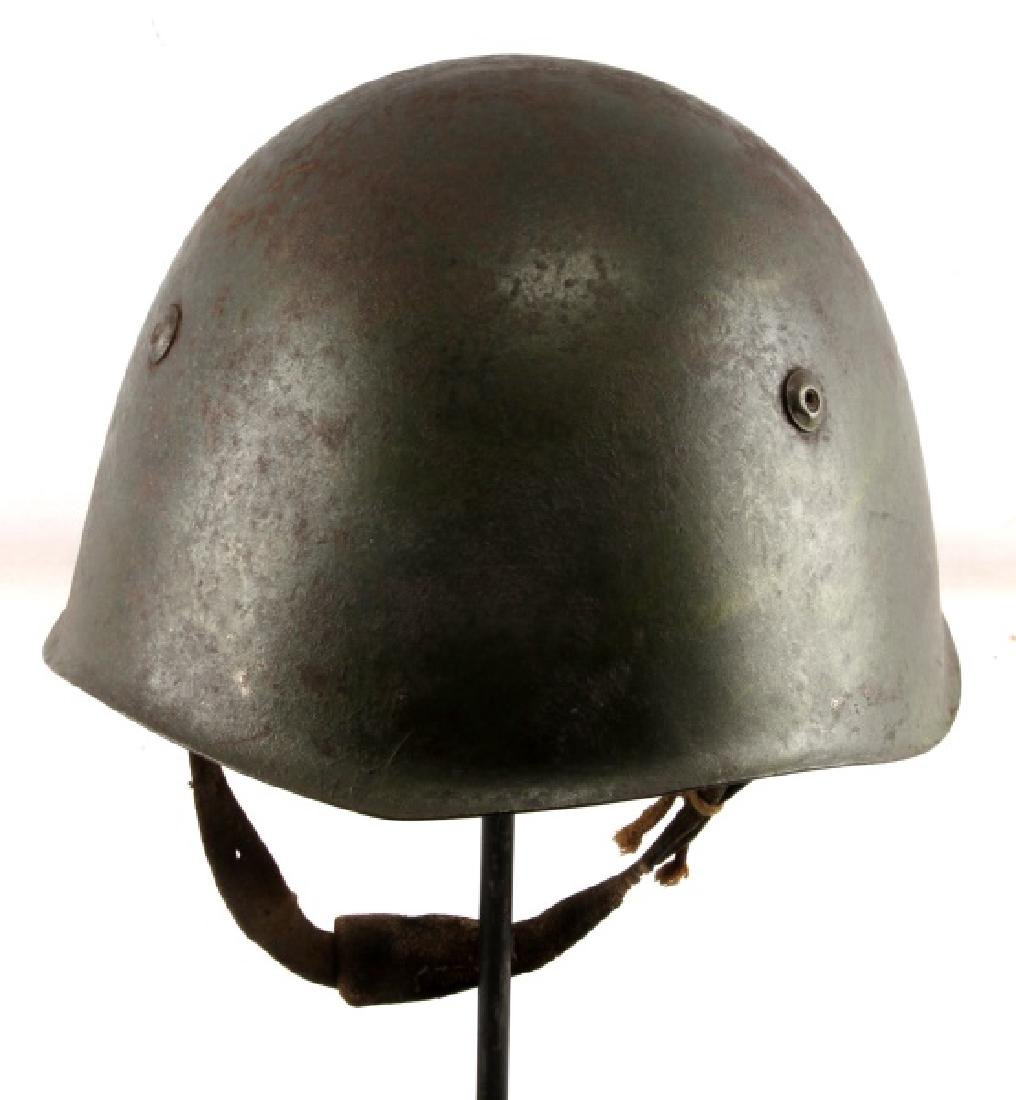 WWII SOVIET UNION RED ARMY SSH-39 COMBAT HELMET