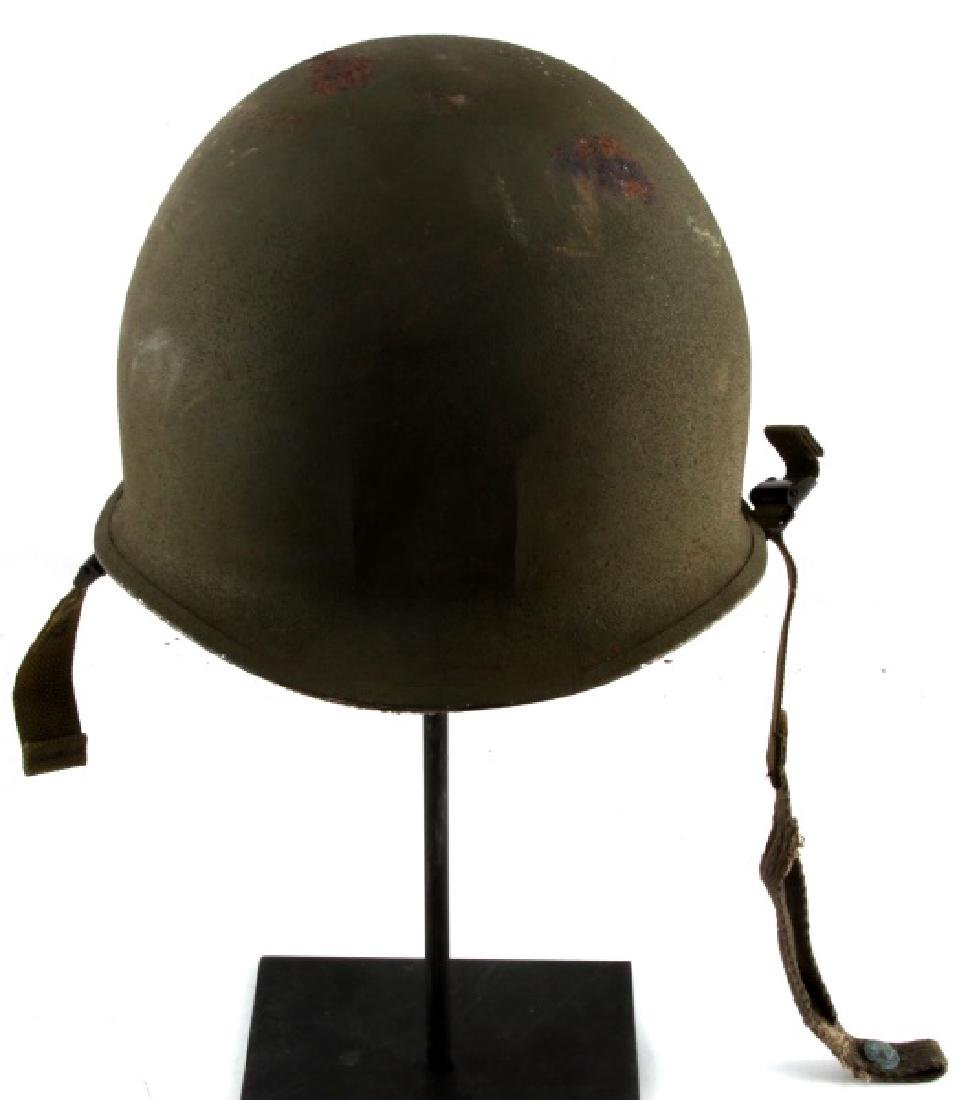 WWII US ARMY M1 COMBAT HELMET OUTER & INNER SHELL