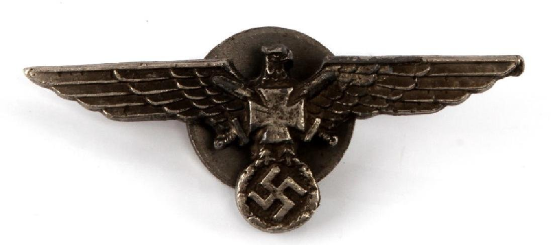 GERMAN WWII VETERANS BREAST BADGE SCREWBACK MODEL
