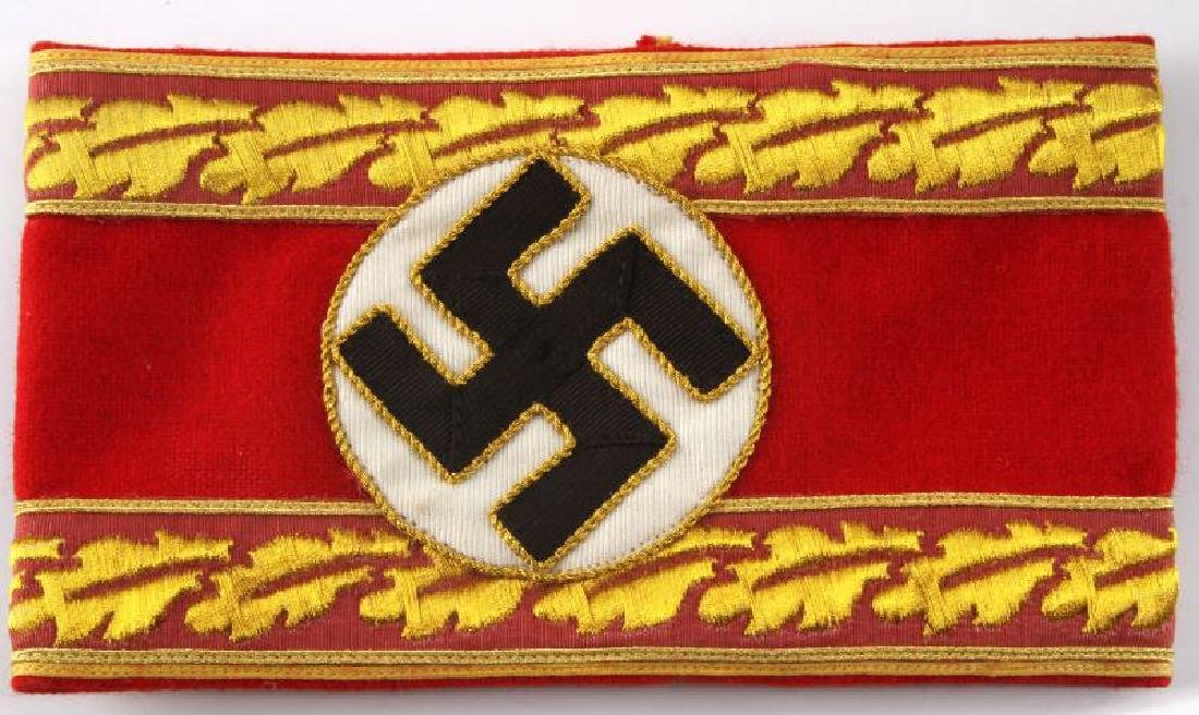 WWII GERMAN THIRD REICH NSDAP LEADER ARMBAND