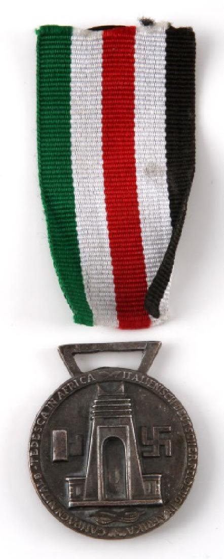 WWII 1942 ITALIAN GERMAN AFRICAN CAMPAIGN MEDAL
