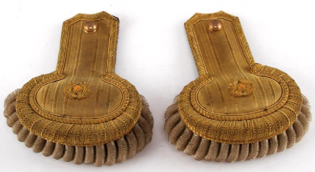 IMPERIAL ERA OFFICERS FRINGED MILITARY EPAULETTE