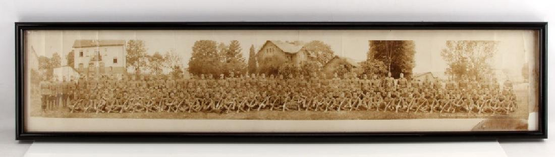 YARD LONG WWI MILITARY PHOTOGRAPH 82 CO 6TH MARINE