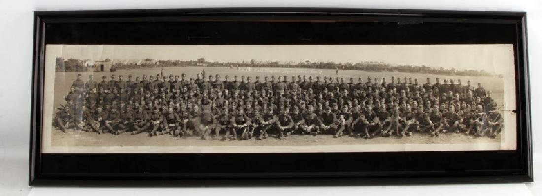 YARD LONG WWI MILITARY PHOTO CO. B 11 US MARINES
