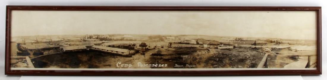 YARD LONG WWI MILITARY PHOTOGRAPH CAMP PONTANEZEN