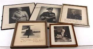 GERMAN THIRD REICH WWII SIGNED PHOTO LOT