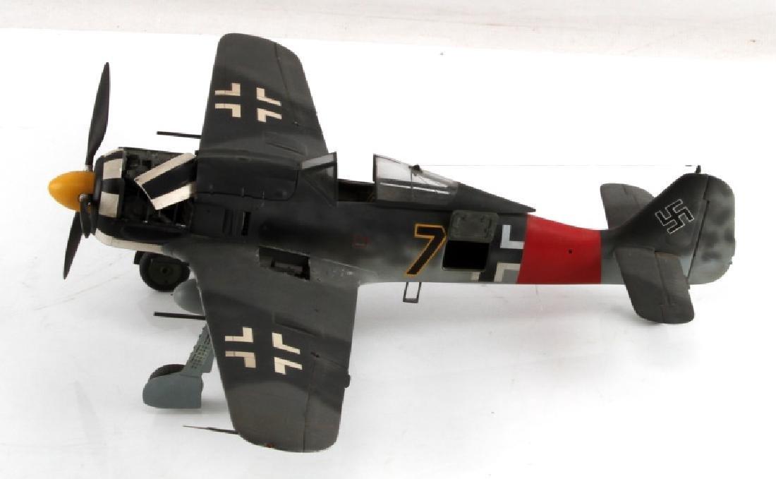 WWII GERMAN FW190-A8 FIGHTER JET MODEL BY FICKLEN