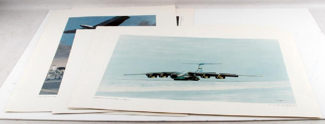 12 US AIR FORCE ART COLLECTION FINE ART LITHO LOT