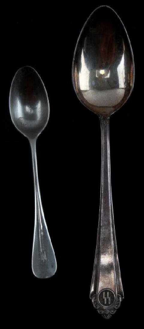GERMAN WWII LEIBSTANDARTE & FORMAL SS SPOON
