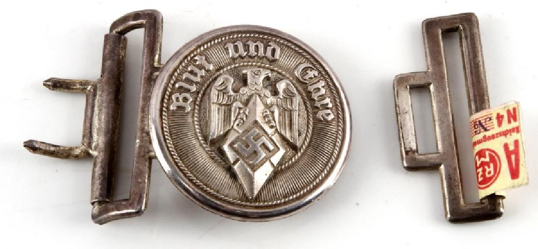 GERMAN WWII 3RD REICH HITLER YOUTH BELT BUCKLE