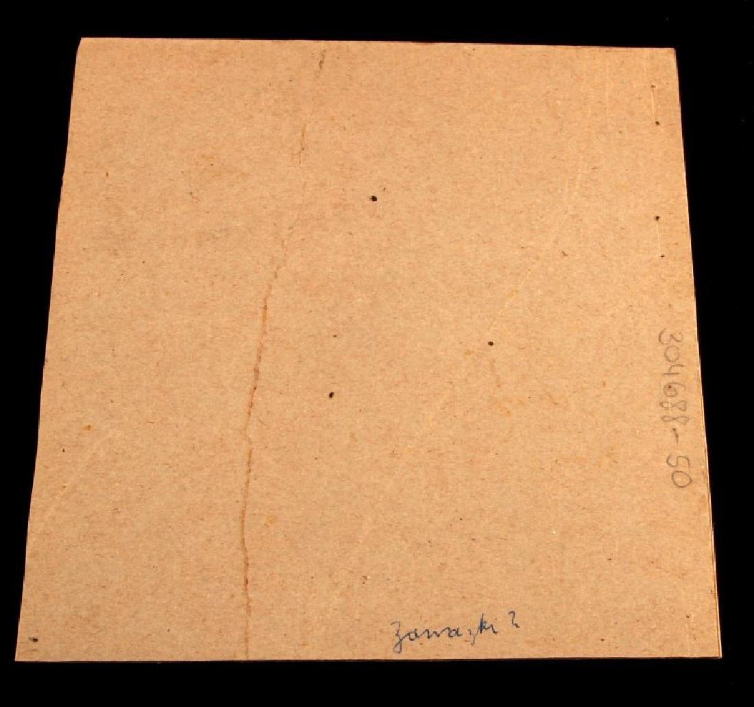 ADOLF HITLER SIGNED PENCIL SKETCH PORTRAIT W COA - 4