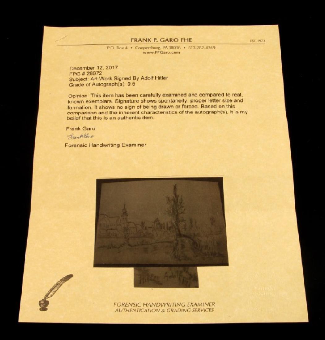 ADOLF HITLER SIGNED ROUGH CHARCOAL SKETCH - 5