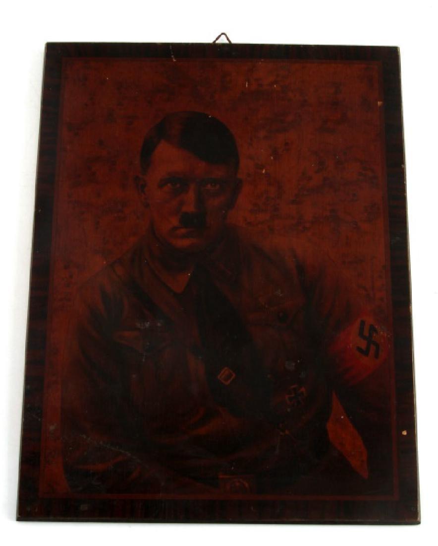 PRE WWII GERMAN THIRD REICH HITLER SA PLAQUE