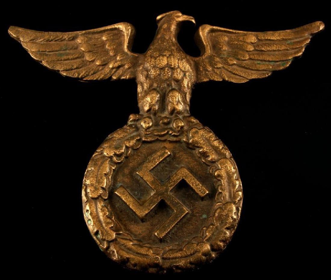 WWII GERMAN THIRD REICH NATIONAL EAGLE BRONZE