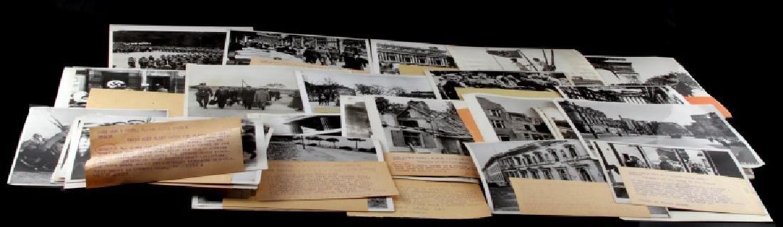 OVER 40 GERMAN THIRD REICH PRESS PHOTO LOT
