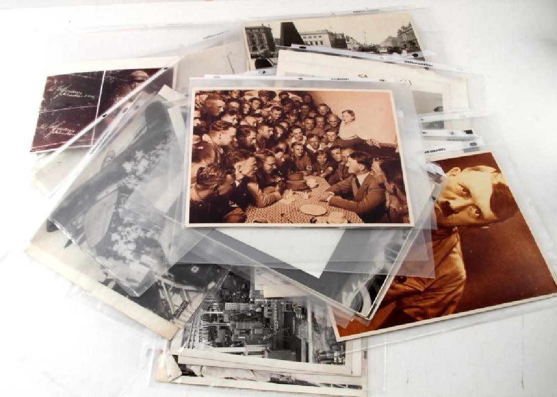 OVER 60 WWII PRESS PHOTO LOT ALLIES & THIRD REICH