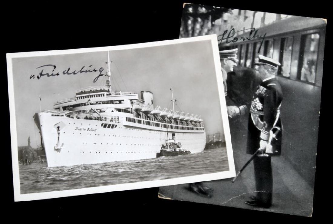 WWII GERMAN THIRD REICH HITLER AUTOGRAPHED PHOTO