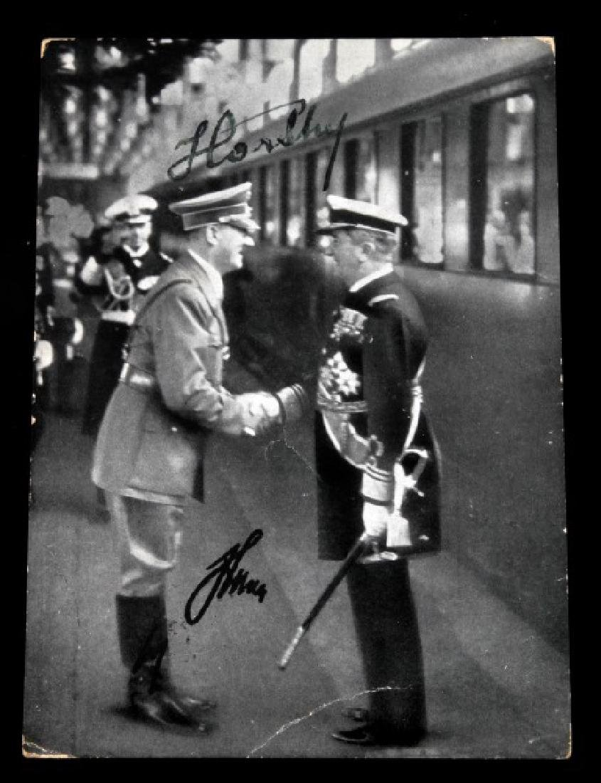 WWII GERMAN THIRD REICH HITLER AUTOGRAPHED PHOTO - 4
