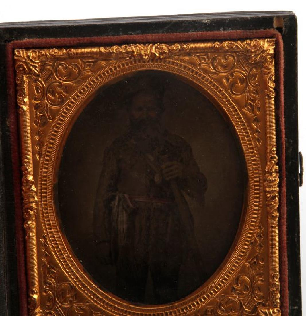 DAGUERREOTYPE PHOTO FRONTIER MOUNTAIN MAN FUR TRAD - 2