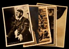 WWII GERMAN THIRD REICH ADOLF HITLER SIGNATURE LOT