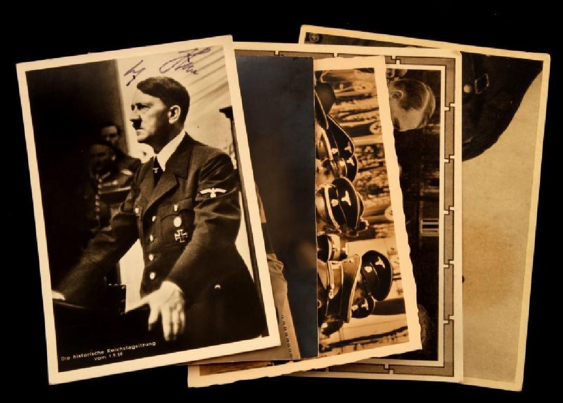 WWII GERMAN THIRD REICH ADOLF HITLER SIGNATURE LOT