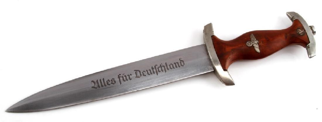 WWII GERMAN REICH SA EICKHORN FULL ROHM DAGGER - 2