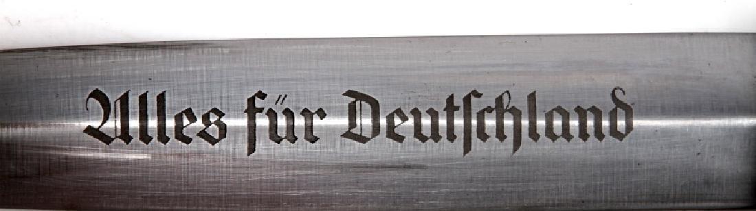 WWII GERMAN REICH SA EICKHORN FULL ROHM DAGGER - 3