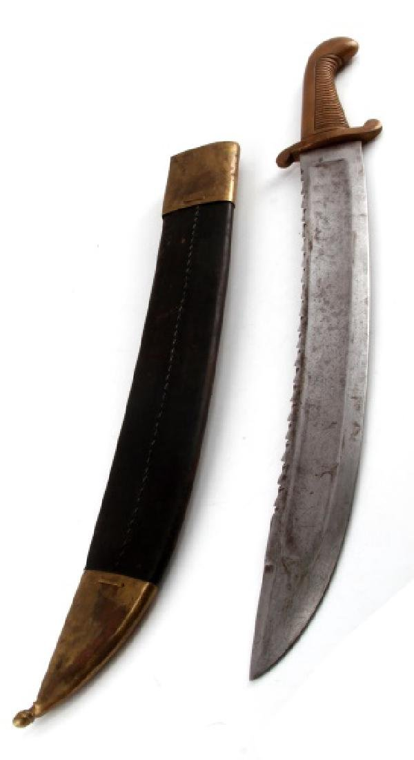 RUSSIAN IMPERIAL MODEL 1827 PIONEER SAWBACK SWORD