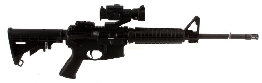 RUGER AR 556 SEMI AUTOMATIC RIFLE IN 5.56 NATO BAG