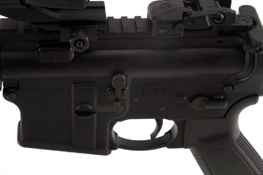 RUGER AR 556 SEMI AUTOMATIC RIFLE IN 5.56 NATO BAG - 5