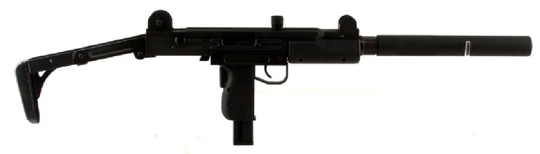 ISRAELI WALTHER UZI .22CAL RIFLE W FOLDING STOCK