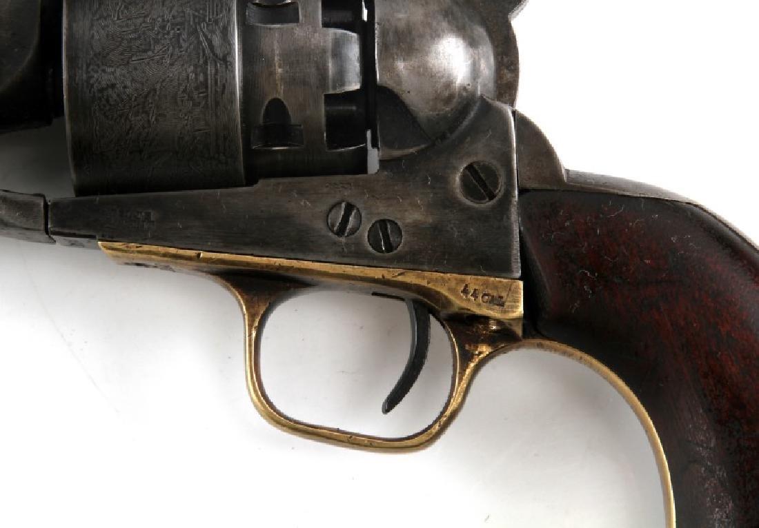 COLT MODEL 1860 ARMY 44CAL REVOLVER W CASE & MORE - 5