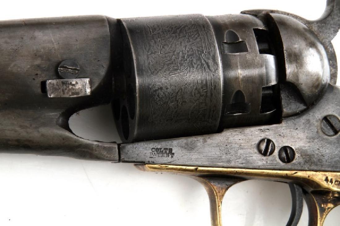 COLT MODEL 1860 ARMY 44CAL REVOLVER W CASE & MORE - 6
