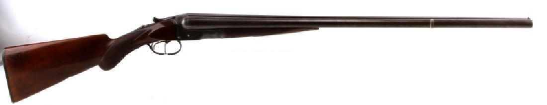 COLT 1883 DBL BARREL SXS 12 GA SHOTGUN DAMASCUS