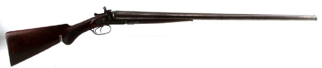 COLT 1878 SXS DAMASCUS 10 GAUGE HAMMER SHOTGUN