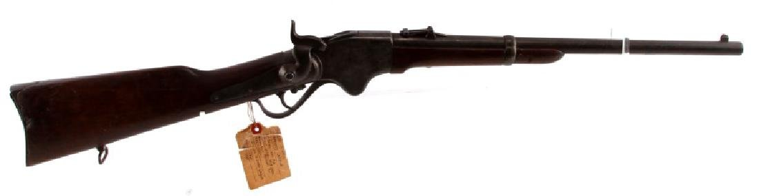 1865 SPENCER REPEATING LEVER ACTION RIFLE .52 CAL