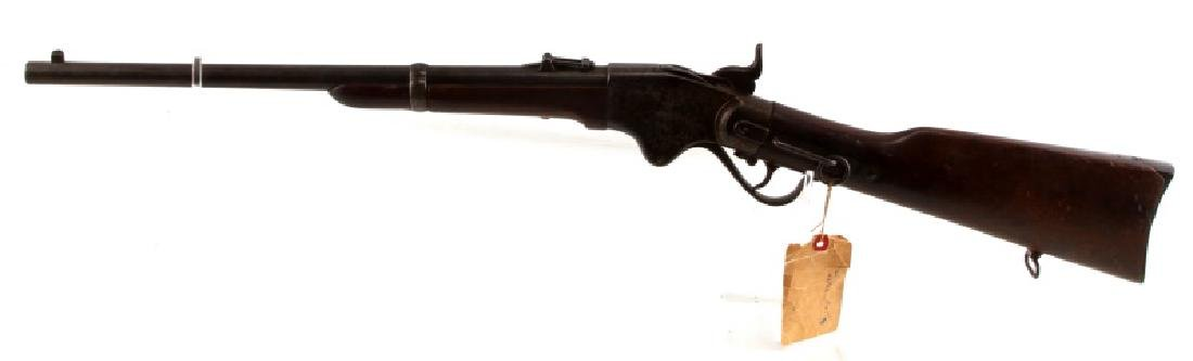 1865 SPENCER REPEATING LEVER ACTION RIFLE .52 CAL - 4